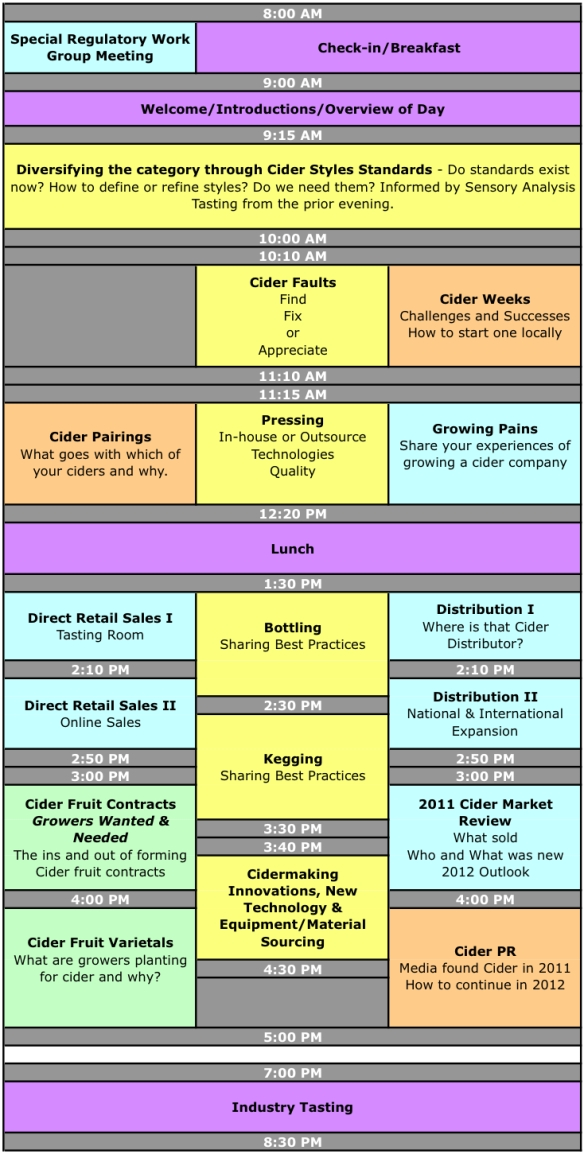 CiderCon Schedule Day 2