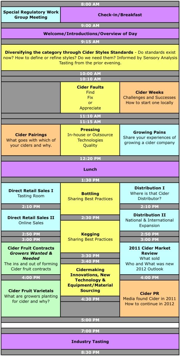 CiderCon Schedule Day 2